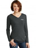District Womens Perfect Tri Long Sleeve Hoodie