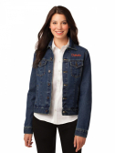 PORT AUTHORITY LADIES DENIM JACKET